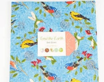 Tend the Earth Layer Cake by Deb Strain for Moda fabrics  19540LC