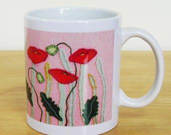 Poppy Meadow Mug