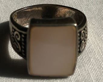 Vintage Sterling Silver Ring-Size 8