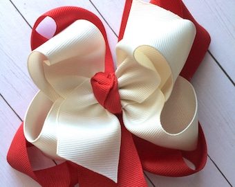 M2m made to match Eleanor Rose Woodland Wonderland girls double stack hair bow