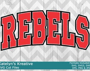 Rebels Arched SVG Files