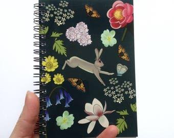 a6 plain notebook - hare notebook