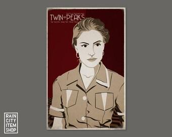 Twin Peaks - Shelly Johnson Movie Poster - David Lynch