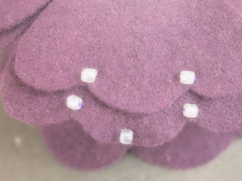 Wedding Cake Topper Dark Eggplant Purple Bride Groom Choose Hair ...