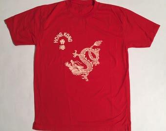 Vintage Hong Kong Dragon T-Shirt