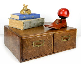 """library card catalog, 20"""", dovetail, 9"""" wide drawers, larger drawers, tiger oak, vintage office, card cabinet, wood inserts, storage,"""