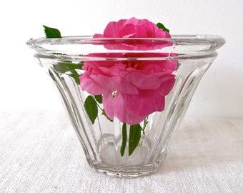 LARGE Antique french jam jar - Antique Glass jar - French Antique Glass jar - Pot à confiture - French Antiques