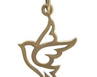 Peace Dove, Bronze -18mm