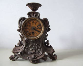 Vintage Metal Clock