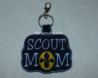 Scout Mom Bag Tag