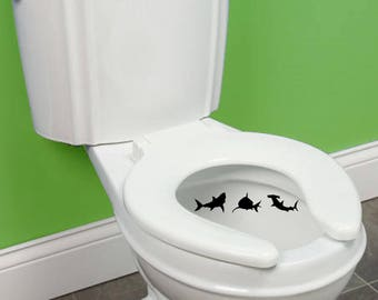 Shark Toilet Targets