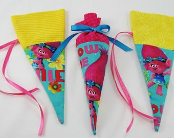 Trolls Party Favor - Trolls Birthday Party  - Trolls Treat Bag - Trolls Candy Bag - Great for Gumballs -Small Chocolate Candies- Jelly Beans