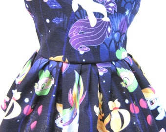 My Little Pony Mermaids, Sleeveless Dress for your 18 Inch Doll A