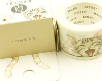 Say Hi - Japanese Washi Masking Tape - 30mm wide - 11 yard