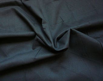 Voile cotton - black - 50 cm