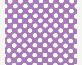 SUMMER SALE Fat Quarters ONLY - Purple Ta Dot from Michael Miller