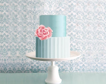 White Cake Stand for Winter White Weddings / Inspired by Winter is Coming from Game of Thrones