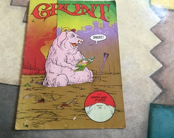 Grunt Comics give away by the Jefferson Airplane Greg Irons and Tom Veitch Artists