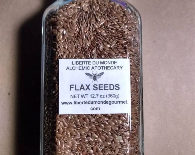Flax Seeds in a Variety of Sizes and Packaging