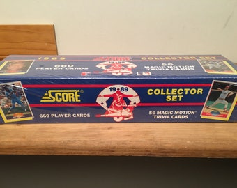 1989 Major League Baseball collecter set