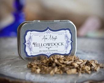 Yellowdock Herb Tin