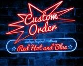 Custom order for Carmel