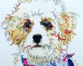 Pet Portrait - Original Art