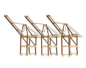 Port Crane model kit