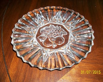 Chrystal, Chrystal, Chrystal, Vintage Chrystal, Chrystal Plates, Chrystal Platters, Chrystal Bowls