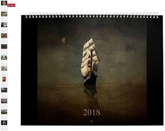 2018 Large Wall Calendar