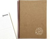 2018/2019 Weekly & Monthly Planner   LARGE   12 Months   Eco-Friendly Agenda   Rose