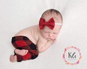 Hair Bow, Baby Headband, Newborn Headband, Baby Girl Headband, Baby Bows, Red Headband, Felt Headband, Newborn Girl, Headbands