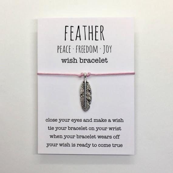 wish bracelet or anklet , silver feather bracelet , friendship bracelet , beach bracelet , beachcomber bohemain bracelet