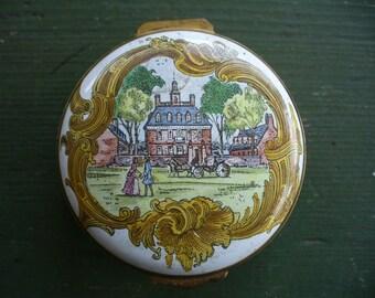 Colonial Williamsburg Trinket Box