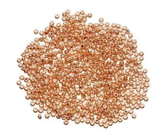 Toho® Japanese Glass Seed Beads - 11/0 2.2mm - Galvanized Peach - 8g