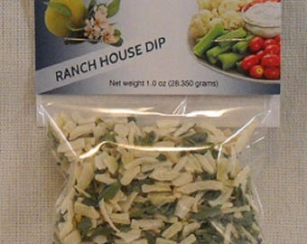 Creamy Ranch House Dip and Seasoning Mix Party Wedding Favors
