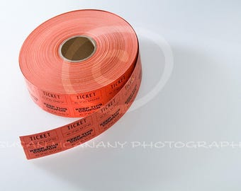 Coupon Clipart, Ticket Photo, Ticket Roll Clipart, Ticket Clip Art, Red Tickets, Movie Blog Photo, Event Ticket Photo, Raffle Ticket Photo