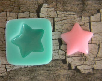 Flexible Mold - Puffy Star