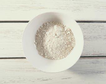 White Kaolin Clay - 1 ounce - White Kaolin Clay - White Kaolin Clay powder - SAMPLE CLAY