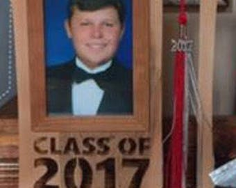 Graduation photo, picture frame, class of 2017
