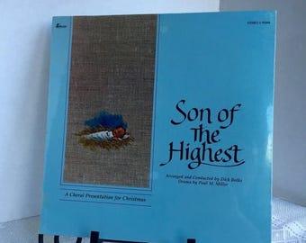 CIJ Vintage Vinyl Record Christmas Album Son of the Highest LP Sealed 1983