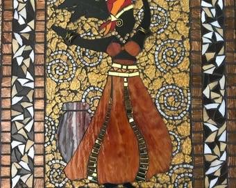 African Queen Mosaic