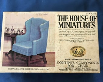 Miniature Wing Chair Kit