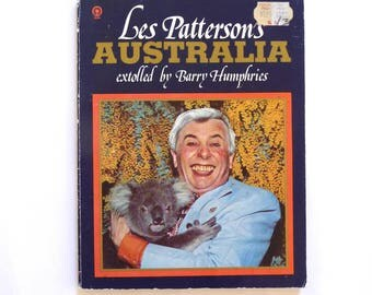 Les Patterson's Australia Book Extolled by Barry Humphries