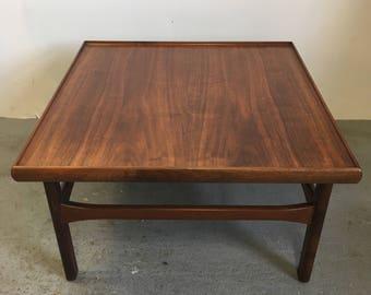 Beautiful Danish Moreddi Walnut Side Table