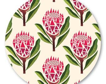 Pretty Proteas Pot Stand/Trivet