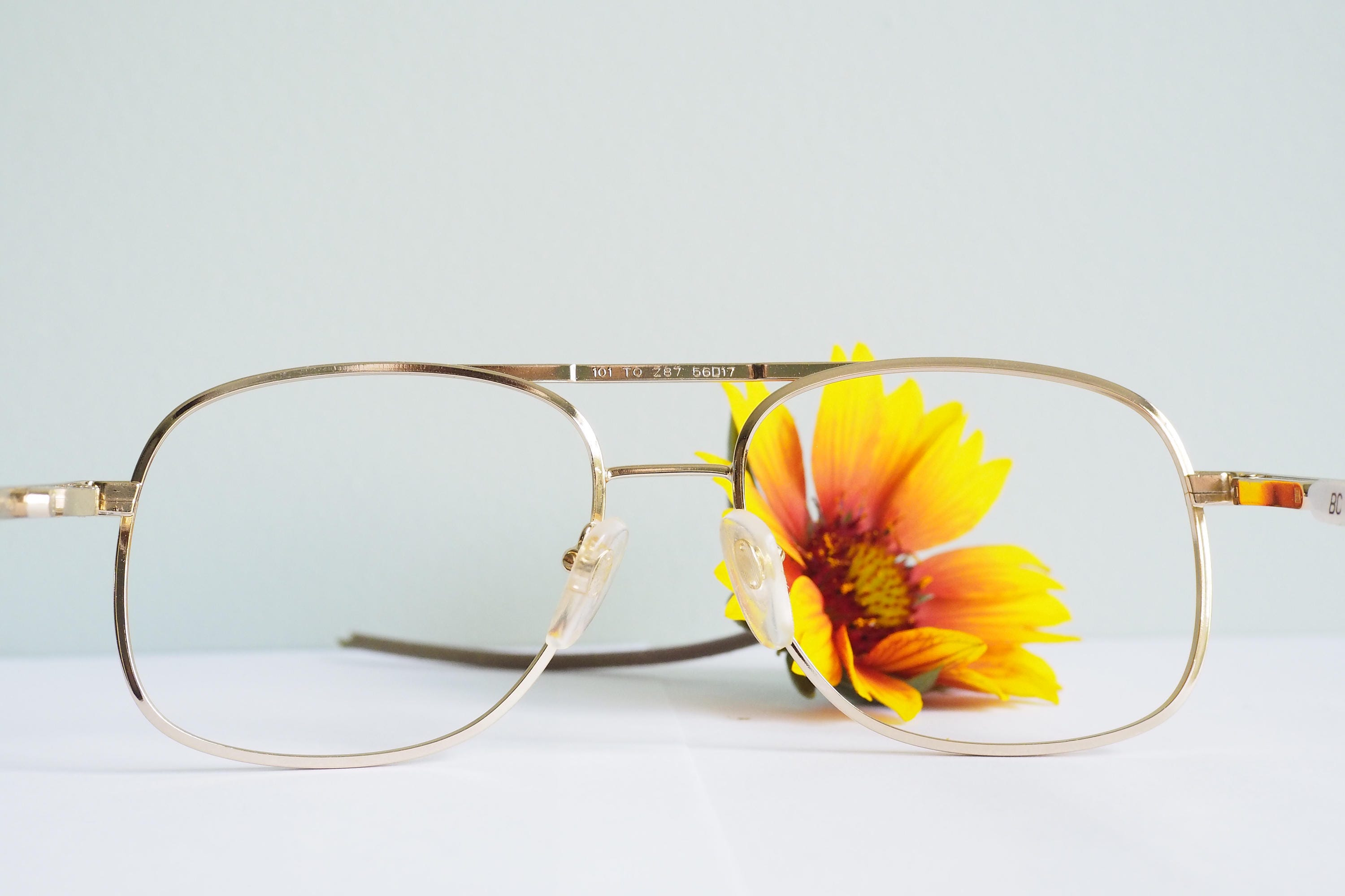 Vintage 1970\'s Aviators By Titmus Beautiful Gold Toned Frames New ...