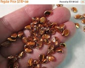 TWT SALE - 7x5mm Preciosa Pip Beads, Czech Glass, Crystal Sunset, #00030-27137 - Available in 20 & 30 Bead Pkgs and in Larger Pkgs