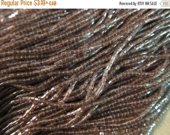 Flash Friday SALE - 10/0, Preciosa, Czech Seed Beads, 2-Cut, Trans Luster Light Amethyst, #26010 - Available in 1/2 & Full (12-strand) Hanks