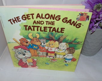Vintage Get along gang and the tattletale Paperback 1984 Sonia Black Scholastic